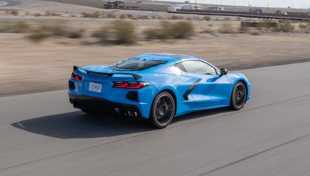 Chevrolet Corvette Stingray, la Launch Edition se dévoile