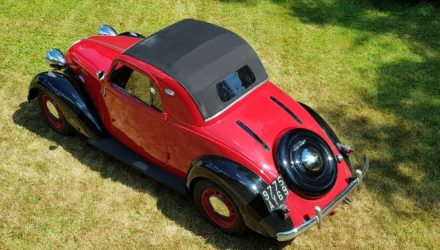 Epoqu'Auto : Une Simca Coupe 8