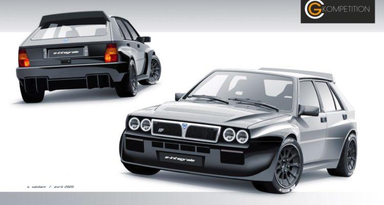 Une Lancia Delta 100% électrique grâce à Guerlain Chicherit !