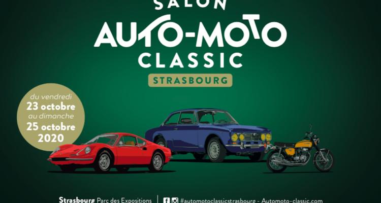 Strasbourg : L'affiche de la deuxième édition du salon Auto-Moto Classic