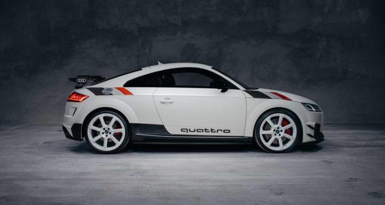 Audi TT RS 40 Years of quattro une édition spéciale produite à 40 exemplaires !