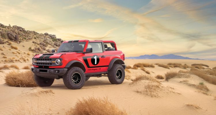 Hennessey s'attaque au Ford Bronco !