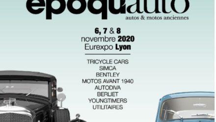 Epoqu'Auto : L'affiche de l'édition 2020