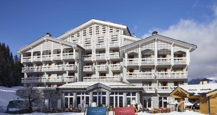Ecrin Blanc hôtel courchevel