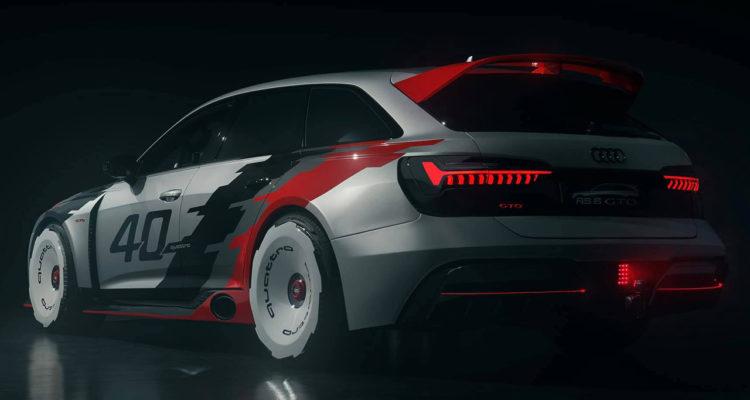 Une Audi RS6 GTO pour célébrer les 40 ans de quattro !
