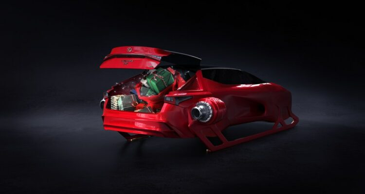 Lexus offre un nouveau traineau au Père Noël !