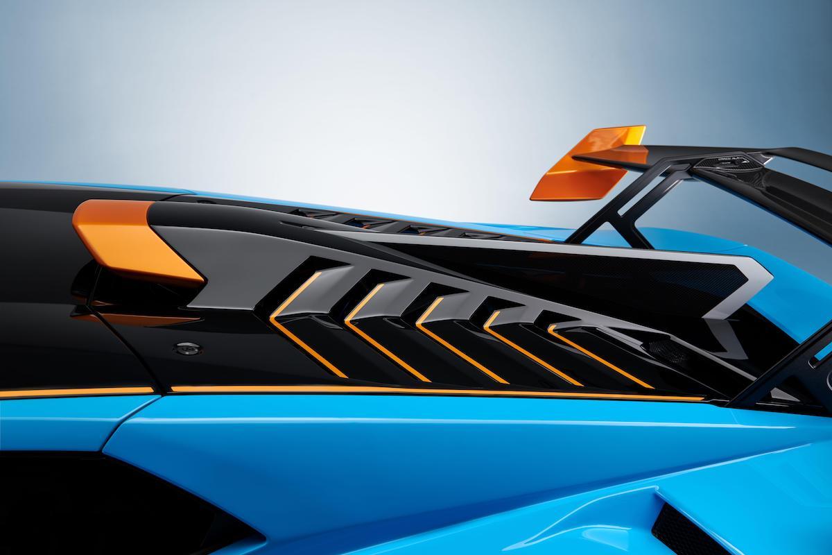 L'aileron de requin de la Huracan STO (crédit - Lamborghini media center)