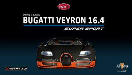 Altaya propose une Bugatti Veyron 16.4 Super Sport à construire au 18e !
