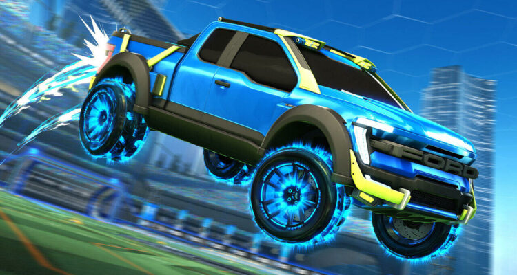 rocket league ford F-150