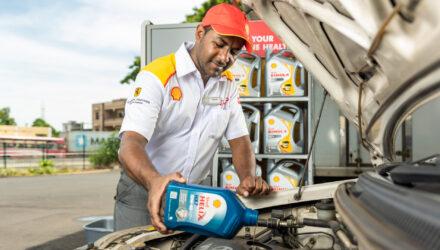 """Shell va proposer des lubrifiants """"à l'empreinte carbone neutre""""."""