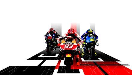 Du gameplay pour le jeu vidéo MotoGP 21