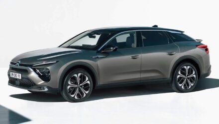 Citroën découvrez la C5X, une voiture hybride !