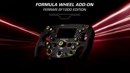 Jeux vidéo : Thrustmaster lance le Formula Wheel Add-On Ferrari SF1000 Edition !