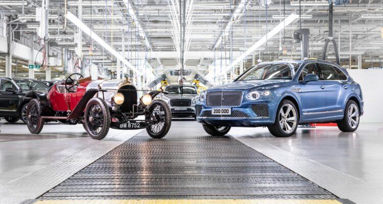 La 200.000e Bentley est sortie des usines !