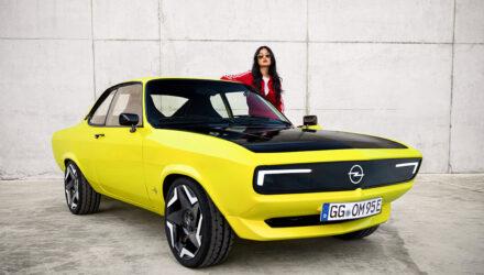 L'Opel Manta de retour en version électrique !