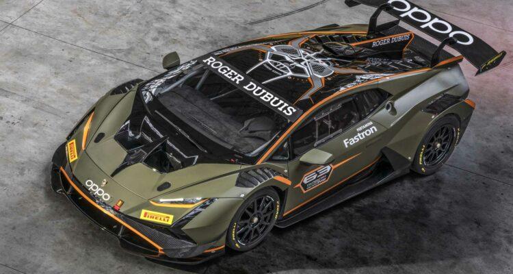 La Lamborghini Huracán Super Trofeo EVO2 est dévoilée !
