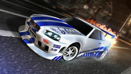 Fast & Furious débarque dans Rocket League !