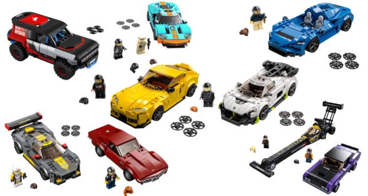 Lego Speed Champions : des nouveautés arrivent enfin !