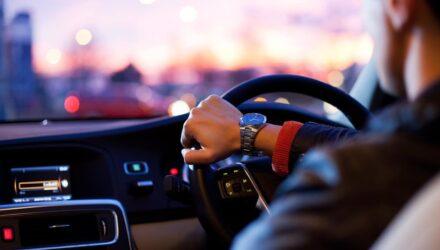 voiture volant