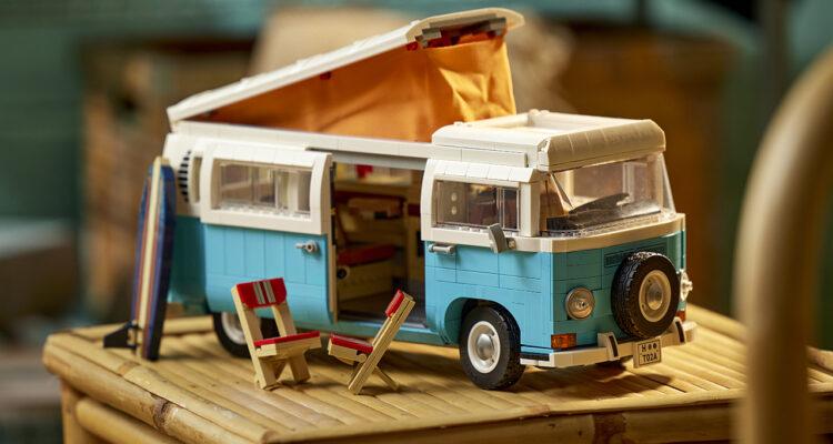 Lego dévoile le Volkswagen T2 Kamper Van !
