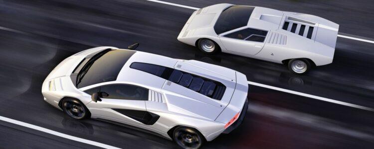 La Lamborghini Countach est de retour !
