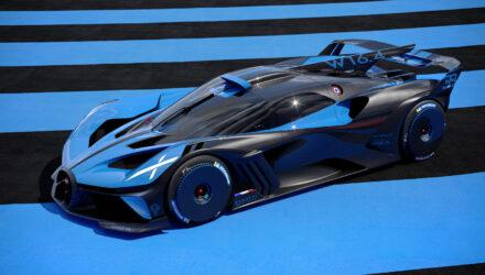 La première Bugatti - Rimac arrivera en 2024 !