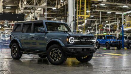 Le Ford Bronco, comme la PS5, est victime de spéculation !