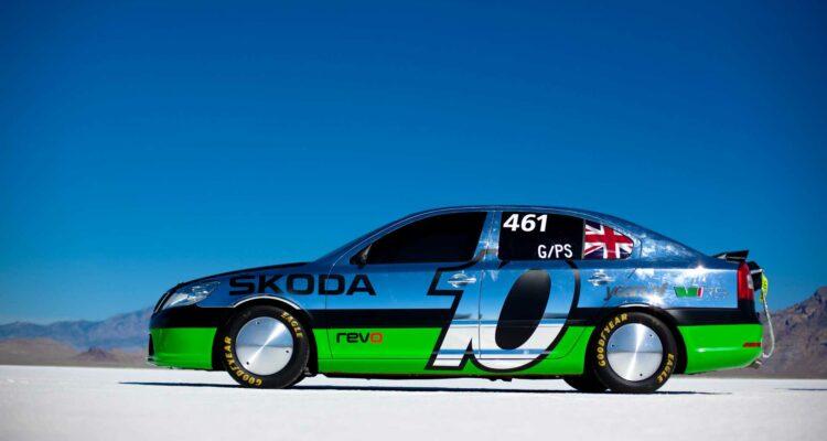 Skoda fête les 10 ans de son record de vitesse !