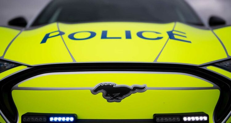 Le Ford Mustang Mach-E pour équiper la Police Anglaise ?